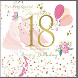 18th Birthday Card Daughter - HerbysGifts.com