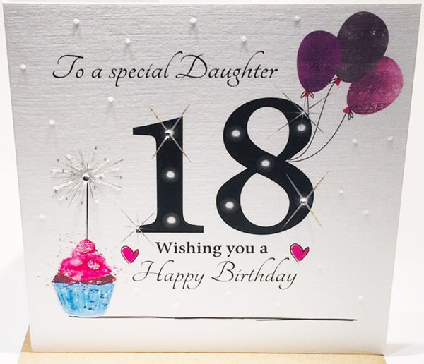 LARGE 18th Birthday Card Daughter