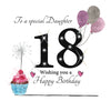 Daughter 18th Birthday Card - HerbysGifts.com