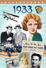 1933 Birthday News Documentary DVD Gift and Card in One  - HerbysGifts.com