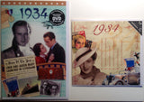 1934 DVD CD Card Gift Set-Herbysgifts.com