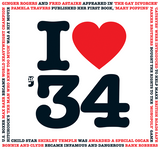 I Love 1934 Birthday Card and CD Gift - HerbysGifts.com