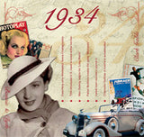 1934 Classic Years CD Card-Herbysgifts.com