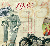 1935 Classic Years CD Card-Herbysgifts.com