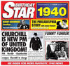 1940 Birthday Star Card & CD - HerbysGifts.com