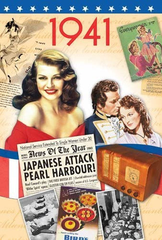 1941 Time of Life DVD Card - HerbysGifts.com