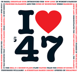 I Love 1947 CD Card-Herbysgifts.com