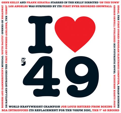 I Love 1949 CD Card- HerbysGifts.com