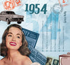 1954 Classic Years CD Card-HerbysGifts.com