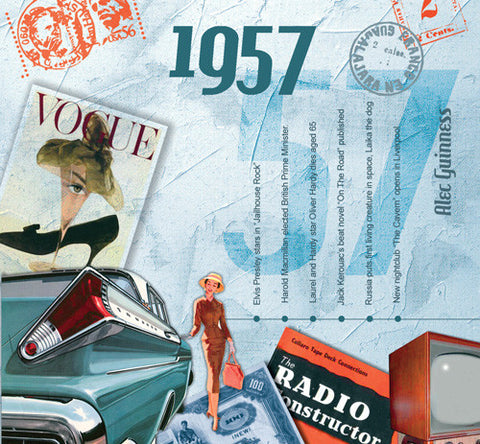 1957 Classic Years CD Card-HerbysGifts.com