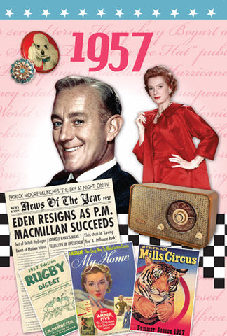 1957 DVD Card - HerbysGifts.com
