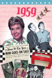 1959 DVD Card - 8 x 5.5 Inches-  HerbysGifts.com