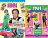 1961 Time of Life DVD Card and 1961 Story of Your Year CD Set - HerbysGifts.com