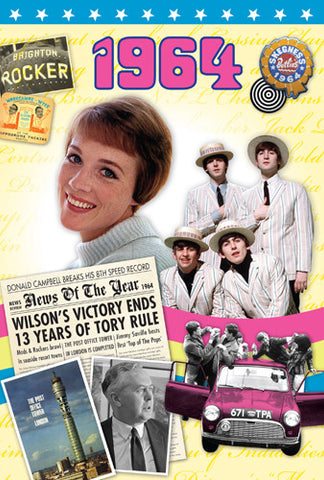 1964 DVD Card-HerbysGifts.com