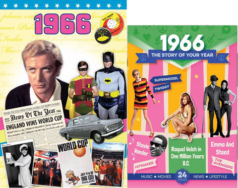 1966 Time of Life DVD Card and 1966 Story of Your Year CD Set - HerbysGifts.com