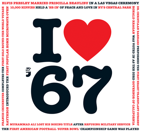 1967 I Heart CD Card - HerbysGifts.com - HerbysGifts.com