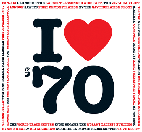 I Love 1970 Card and CD Gift - HerbysGIfts.com