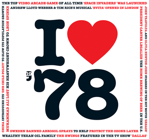 1978 I Heart CD Card-HerbysGifts.com