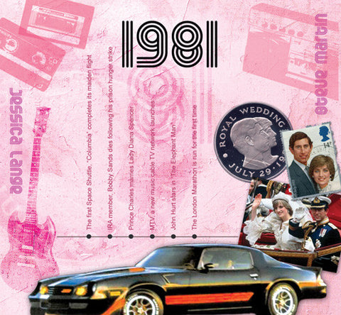 1981 Classic Years CD Card-HerbysGifts.com