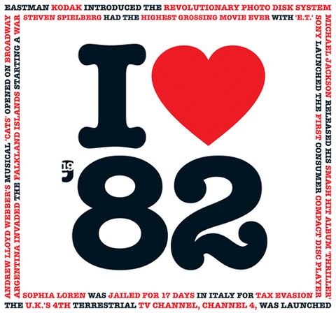 1982 I Heart CD Card