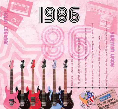 1986 Classic Years CD Card-HerbysGifts.com