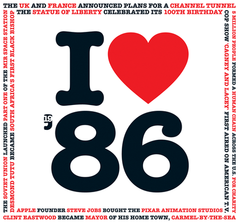 1986 I Heart CD Birthday or Anniversary Card-HerbysGifts.com