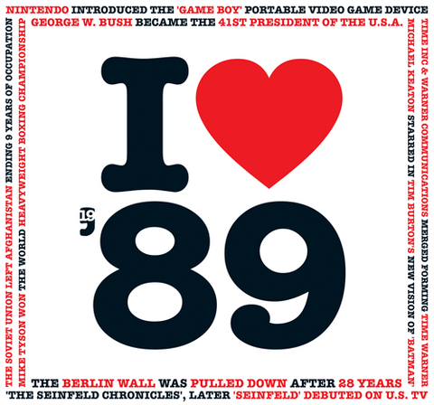 1989 I Heart CD Card