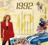 1992 Classic Years CD Card-HerbysGifts.com