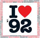 I Love 1992 Greeting Card and Compilation CD - HerbysGifts.com