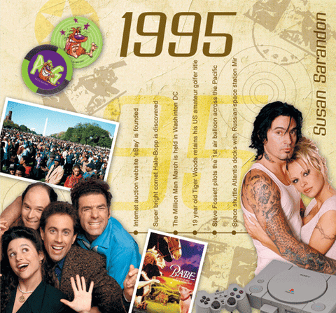 1995 Classic Years CD Card - HerbysGifts.com