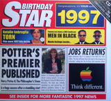 1997 Birthday Star Compilation Music CD Gift & Year Greeting Card-HerbysGifts.com