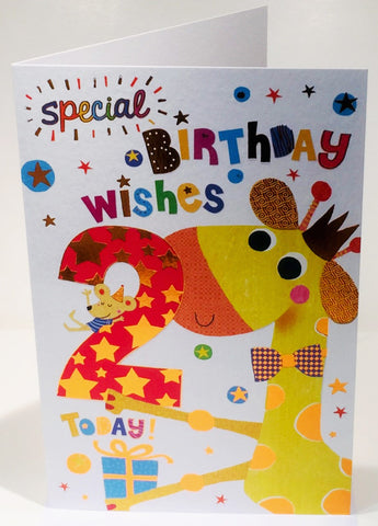 1st Birthday Card For A Girl - HerbysGifts.com