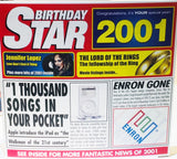 2001 Birthday Gift - 2001 CD Card - HerbysGifts.com