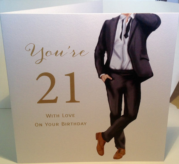 Happy 21st birthday card male 21st birthday card 21st birthday happy 21st birthday card male herbysgifts bookmarktalkfo Gallery