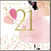 21st Birthday Card Daughter - HerbysGifts.com