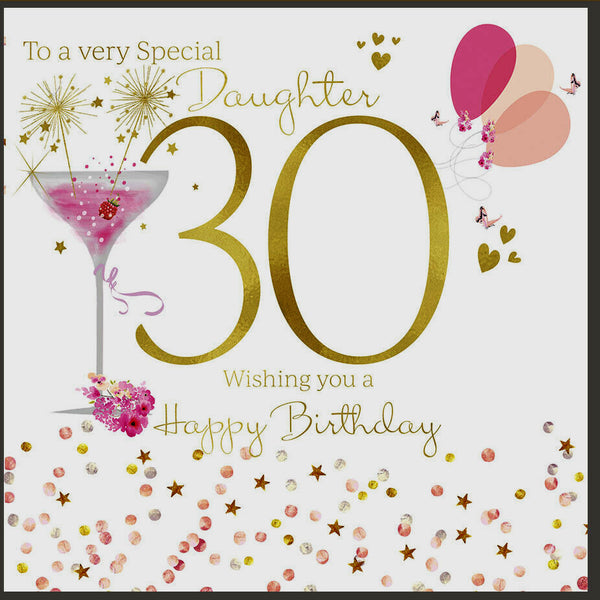 Strange 30Th Birthday Card Daughter 30Th Card Daughter Happy 30Th Funny Birthday Cards Online Inifodamsfinfo
