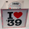 I Love 1939 CD Card - HerbysGifts.com