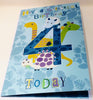 4th Birthday Card For A Boy - HerbysGifts.com - 8.25 x 5.5 Inches