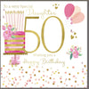 50th Birthday Card Daughter - HerbysGifts.com