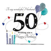 50th Birthday Card For Husband