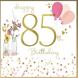 85th Birthday Card Woman - HerbysGifts.com