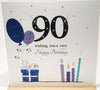 90th Birthday Card For A Man - HerbysGifts.com