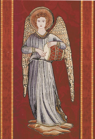 Angel Greeting Card - Blank Inside - 7 x 5 Inches - HerbysGifts.com