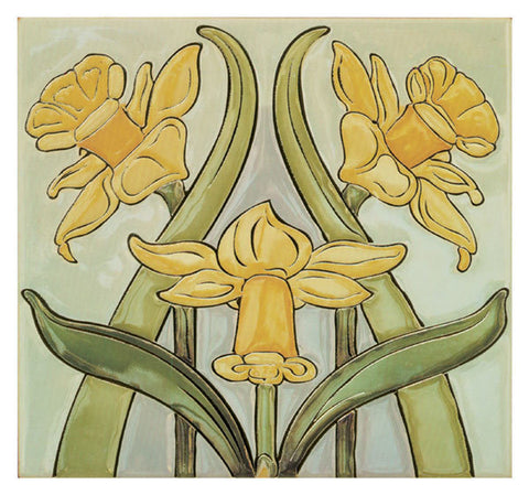 Daffodils Greetings Card - Blank Inside - HerbysGifts.com