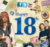 Happy 18th Birthday CD Card - HerbysGifts.com