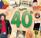 Happy 40th CD Card