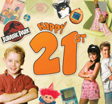 Happy 21st CD Card