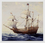 Sailing Ship Birthday Card - The Mary Rose - Blank Inside - HerbysGifts.com