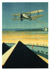 Aeroplane Greeting Card - Blank Inside - 7 x 5 Inches - HerbysGifts.com