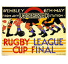 Rugby League Greetings Card - Blank Inside - HerbysGifts.com